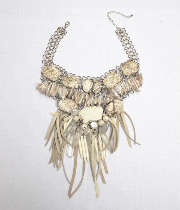 jewelry WHITE TURQ FREDERICK ANDERSON JEWELRY FASHIONDAILYMAG 3720-2