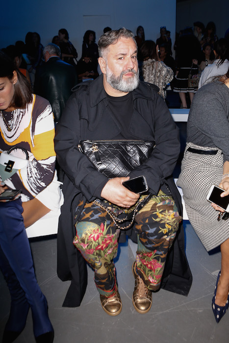 simone guidarelli at sportmax ss18 NYFW fashiondailymag