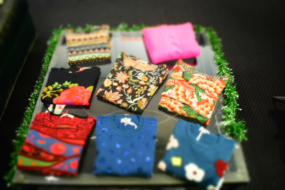colorful sweaters DARRYLS NY UPPER WEST SIDE fashiondailymag gits 2017