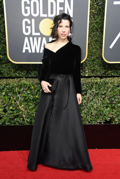 Sally Hawkins attends The 75th Annual Golden Globe Awards at The Beverly Hilton in dior Fashiondailymag 1