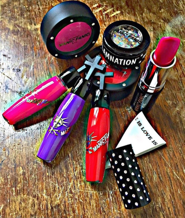 MANIC PANIC MAKEUP for VDAY TISH AND SNOOKY fashiondailymag