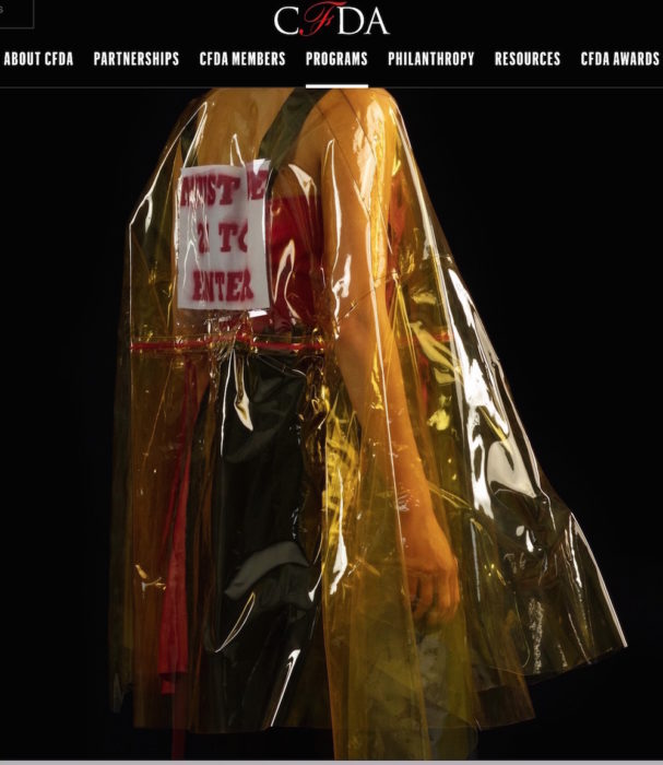 CFDA future fashion ss19 NYFWM GRAD fashiondailymag 7