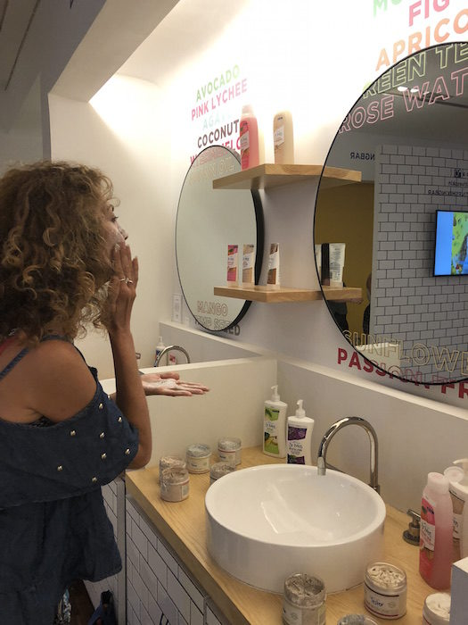 SUMMER BEAUTY ST IVES POPUP by brigitte segura @fashiondailymag copy