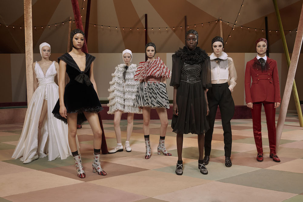 DIOR_HAUTE_COUTURE_SPRING-SUMMER2019_GROUPSHOT_©Estelle Hanania for Dior fashiondailymag