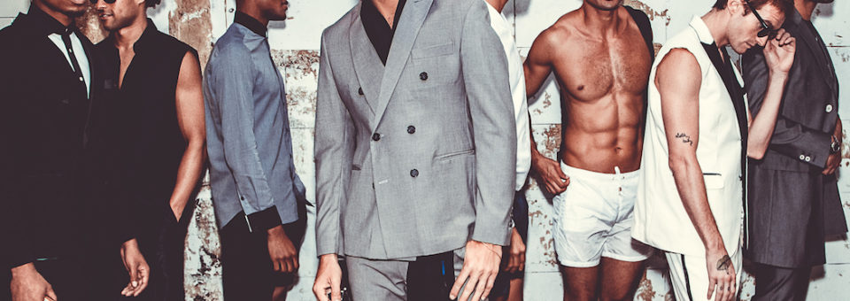 PETA collaborates with STEPHEN F menswear on runway