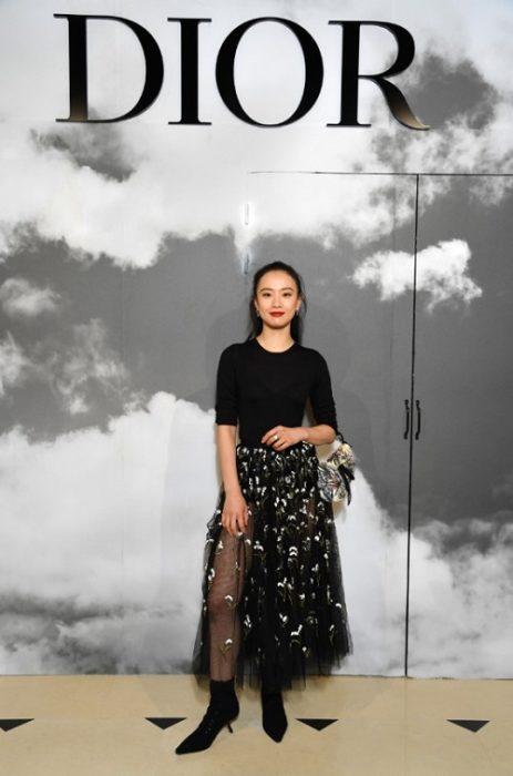 DIOR COUTURE fall 2019 people FashionDailyMag brigitte segura curator