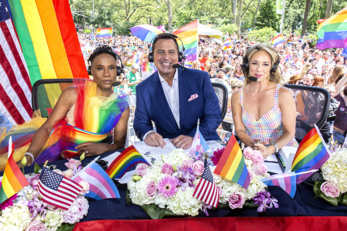 Billy Porter gets ready for WorldPride NYC 2019 on June 30, 2019 in New York City. (Photo by Santiago Felipe/Getty Images) fashiondailymag 6