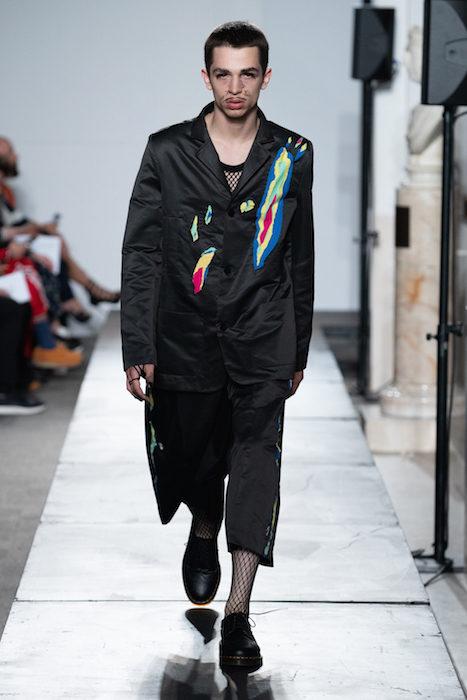 London Fashion Week Mens Spring Summer 2020 - Charles Jeffrey Loverboy ph chris yates FashionDailyMag