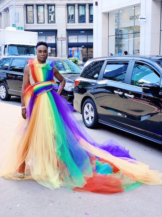 Photo Jun 30, 1 54 28 PM Billy Porter Hosts WorldPride March wearing SIRIANO Photo sam ratelle FashionDailyMag brigitte segura curator