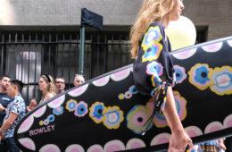 CYNTHIA ROWLEY struts spring 2020 in TriBeCa