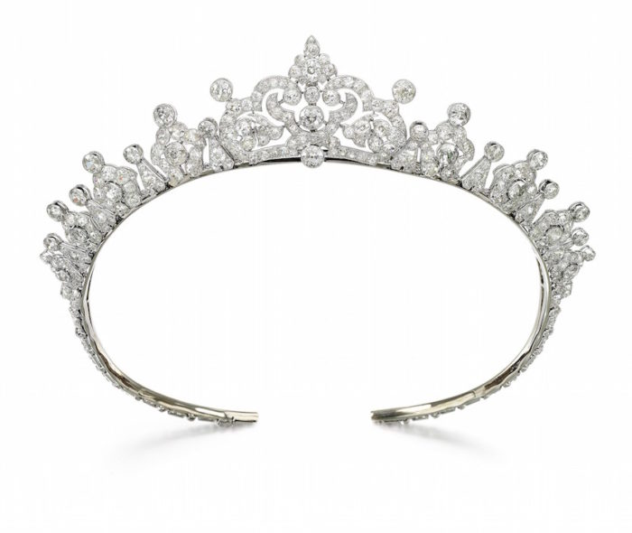 Diamond tiara, Cartier, 1930s - Magnificent Jewels and Noble Jewels Sotheby's Geneva 13 nov 2019