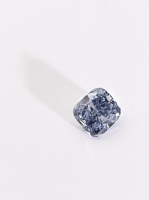 Fancy Vivid Blue diamond, 3.03 carats