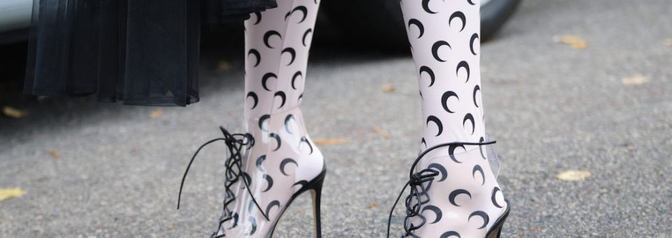 PARIS FASHION: STREETSTYLE shoes