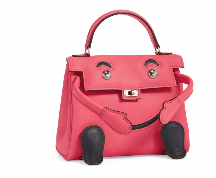 ROSE AZALEA SWIFT LEATHER QUELLE IDOLE WITH PALLADIUM HARDWARE-aCHANEL and BIRKIN handbags x hype christies FashionDailyMag fashion brigitteseguracurator