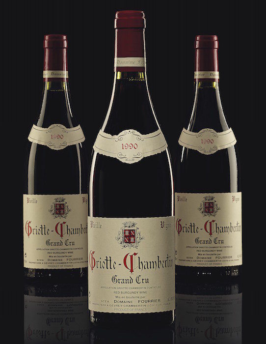 Fourrier, Griotte-Chambertin 1990 CHRISTIES WINES 2019 socialcuratorsnyc FashionDailyMag fashion brigitteseguracurator