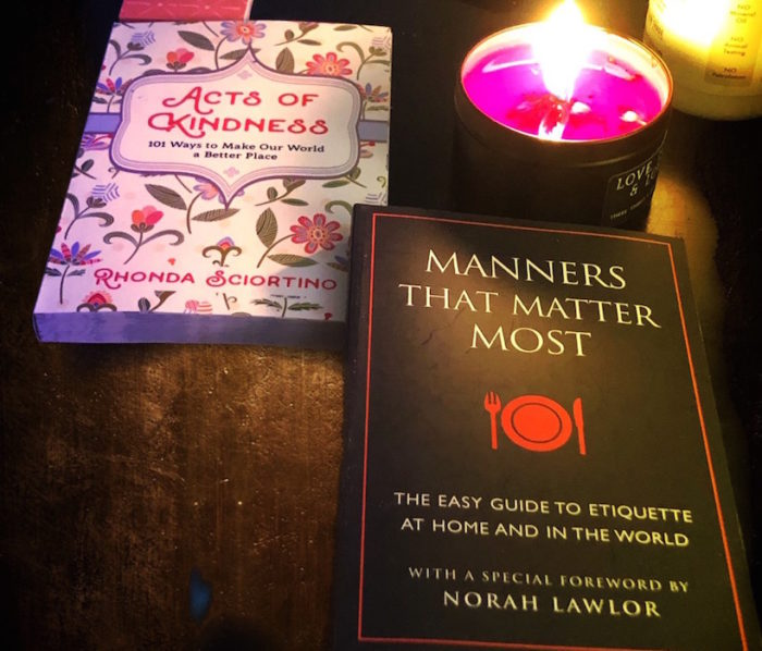 MANNERS THAT MATTER MOST norah lawlor fashiondailymag gifts 2019