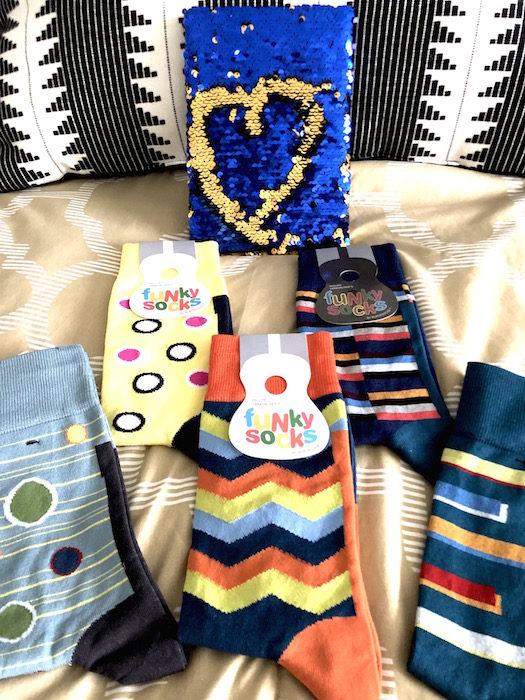 funky socks holiday 2019 fashiondailymag brigitteseguracurator