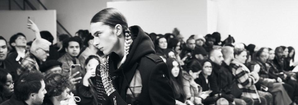 PARIS FASHION WEEK Menswear: models BTS 2020