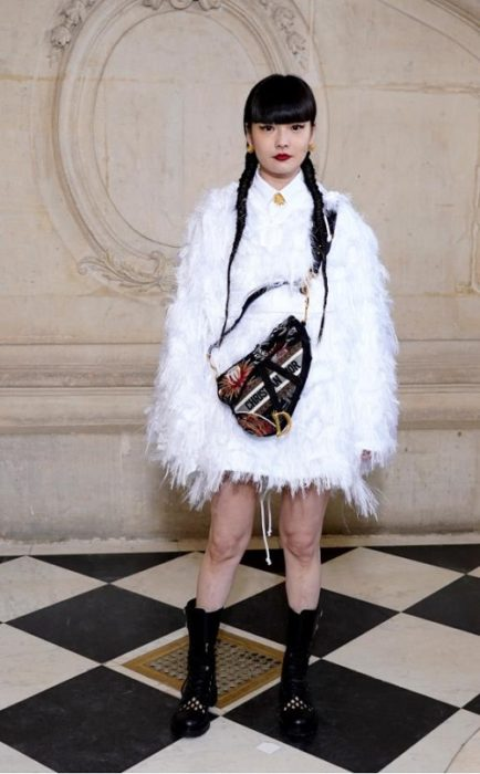 DIOR HAUTE COUTURE SS20 CELEBRITIES PARIS COUTURE FASHION WEEK FASHIONDAILYMAG BRIGITTESEGURACURATOR 30
