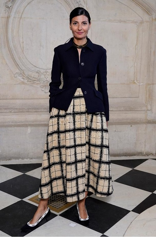 DIOR HAUTE COUTURE SS20 CELEBRITIES PARIS COUTURE FASHION WEEK FASHIONDAILYMAG BRIGITTESEGURACURATOR 35
