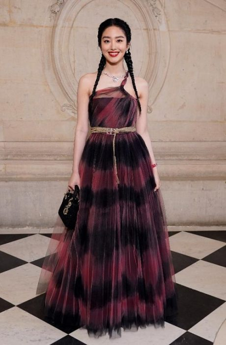 DIOR HAUTE COUTURE SS20 CELEBRITIES PARIS COUTURE FASHION WEEK FASHIONDAILYMAG BRIGITTESEGURACURATOR10