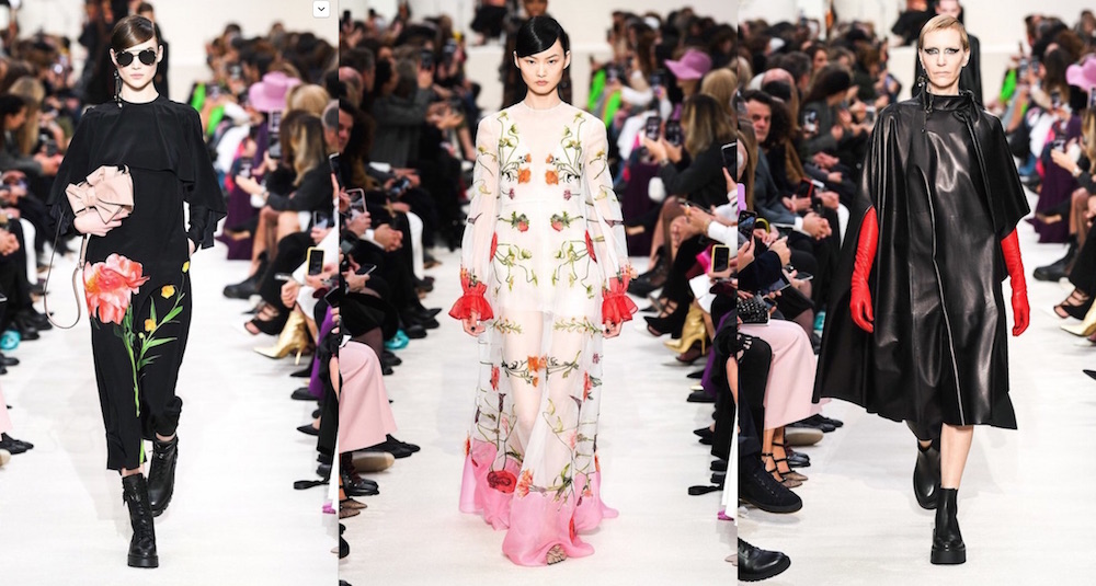 VALENTINO FALL 2020 PARIS FASHION WEEK ph imaxtree fashiondailymag edit