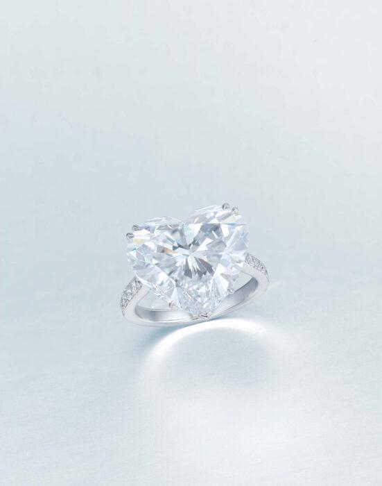 June 2021 - 20.88ct F_IF heart-shaped diamond ring estimate $1.1-1.5 million Christie's Hong Kong fashiondailymag vday brigitteseguracurator