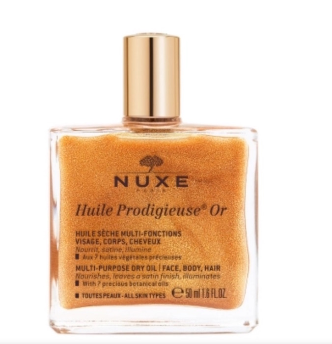 SUMMER SKINCARE SIMPLE NATURAL BEAUTY brigittseguracurator FASHIONDAILYMAG 1 nuxe body oil glimmer