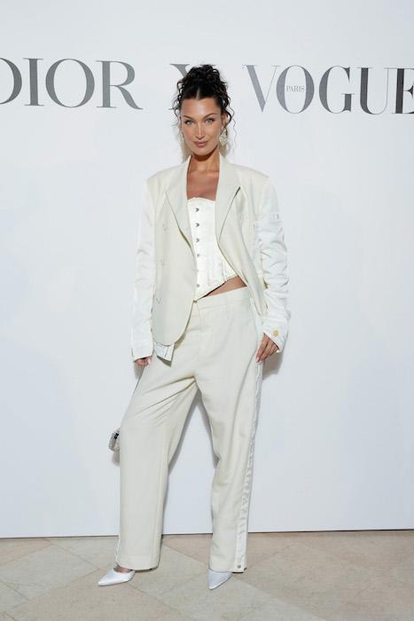 Bella hadid Cannes Couture and Fashion Dior Fashion Daily Mag brigitteseguracurator